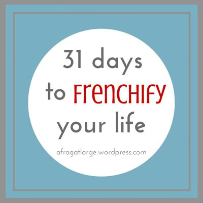 31 days button - Frenchify your life # font x400